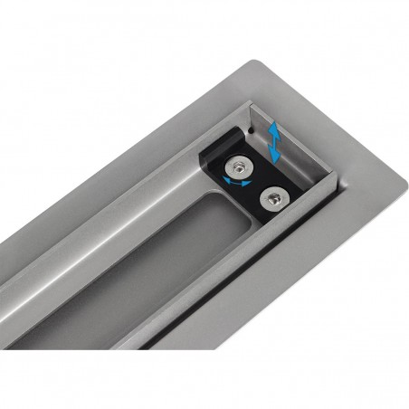 Douchegoot Wiper 800 mm Elite Slim Pure