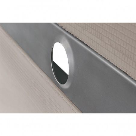 Wiper douchebak 900 x 900 mm met douchegoot type Sirocco